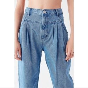 UO BDG High Rise Pleated Jeans